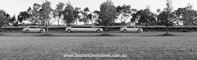 silver chrysler limo, perth